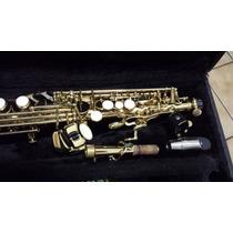 Sax Soprano Reto Eagle Completo + Frete Grátis Excelente $$$