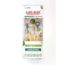 Audifono Lax Max Lie-864 Fruit Earbuds Manzana Verde