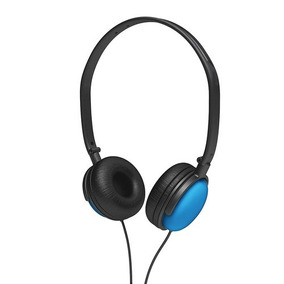 Audífono Coby Cv135blu Dj Style High-performance Stereo Hea