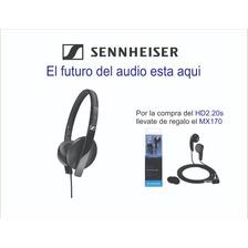 Audifono Sennheiser Hd 2.20s Negro - On Ear + Mx170 Regalo¡