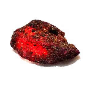 Piedra Autentica De Mina 99.80cts Ruby Rojo Con Certificado