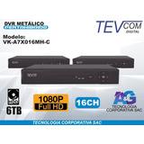 Dvr Tevcom Digital 1080p Full Hd 16 Canales