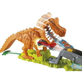 Brinquedos Menino Pista T Rex Dinossauro Hot Wheels Ffw82