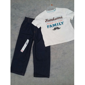Jeans Pantalon Talla 3 De Niño Marca Wonder Kids