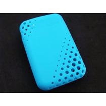 Capa Case Sony Cyber-shot Tx20 Azul Silicone Original