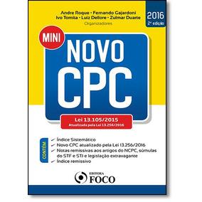 Mini Novo Cpc - Lei 13.105-2015 Atualizada Pela Lei 13.256-2