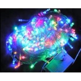 Guirnalda 9 Metros Luces Navidad Led X100 Multicolor A220v