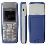 Telefone Antigo Nokia 1110 Novo (relíquia) Azul Escuro