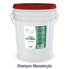 Shampoo Gado Branco Manutenção 20 Kg Faz 800 Litros Sweet
