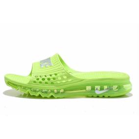 Ojotas Nike Air Max Slide Slipper Men´s Voltgreen