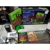 Xbox One S Minecraft Garantia 1tb 2 Juegos Seminueva!!