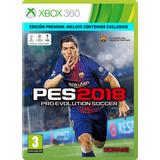 Pes 2018 Para Xbox 360 Original