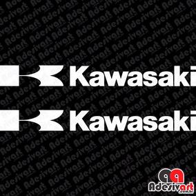 Adesivo Kawasaki Grande Moto Carenagem Ninja 250 300 K 40 Cm
