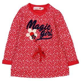 Vestido Felpa Rojo Boboli