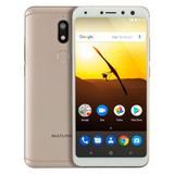 Smartphone Multilaser Ms80 Nb723 32gb - Dourado
