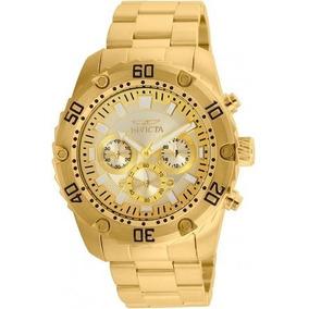 Relógio Invicta Pro Diver 24835 - Ouro 18k