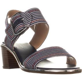 04101604ddd Sandalias Tommy Hilfiger Mujer - Zapatos Azul en Mercado Libre México