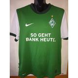 Camiseta Werder Bremen Nike Suplente - Camisetas de Fútbol en ... 7e376c16d9d6b