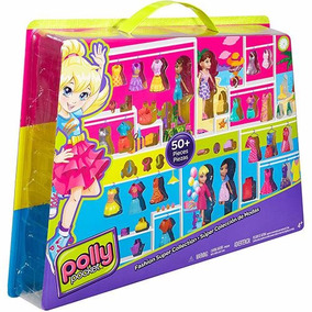 Brinquedo Polly Pocket Conjunto Super Fashion Mattel Cfm24