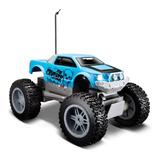 Camioneta 4x4 Radio Control Rock Crawler Jr Maisto Celeste