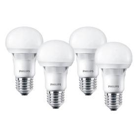 Pack 4 Led Philips Bulb E27 Ess 12w-95w Cálida