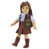 Roupa Boneca American Girl Escolteira