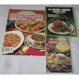 Cocina Internacional. Lote De 3 Libros. Envio Gratis