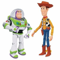 Toy Story Woody Y Buzz Amigos Interactivos Regalo Niños