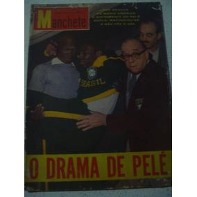 Revista Manchete 530 Drama De Pelé Brasil Marta Miss Gb 1962