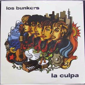 Los Bunkers La Culpa Vinilo Nuevo Y Sellado