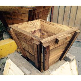 Suculentas macetas de madera en mercado libre m xico - Macetas de madera para exterior ...