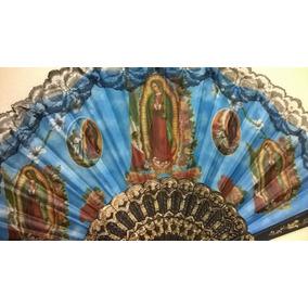 Abanicos Virgen De Guadalupe Fiestas En El Mundo Del Abanico