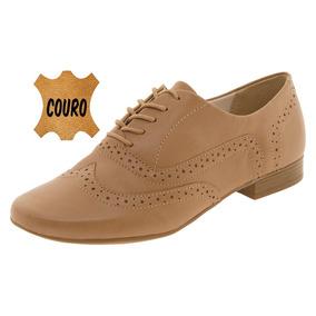 Sapato Feminino Oxford Areia Bottero - 259401