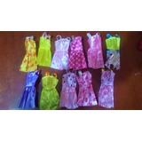 11 Vestidos Para Muñecas Barbie.