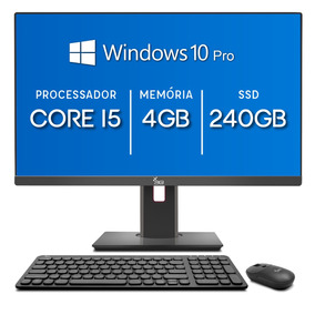 All In One 3green 24 Intel Core I5 4gb Ssd 240gb Windows 10
