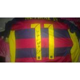 Camisa Fc Barcelona Replica Altografada Pelo Neymar