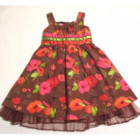 Vestido De Niña Talla 5 Años Bonnie Jean