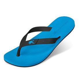Sandália Kenner Summer Black - Azul
