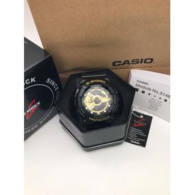 Relógio Cásio G-shock Black/gold Lançamento Completo