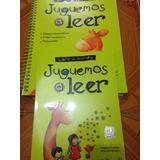 Libros Juguemos A Leer /cuaderno De Ejercicios Y Libro De Le