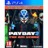 Payday 2 The Big Score Ps4 Fisico Sellado Original Ade