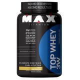 Top Whey 3w (900g) - Max Titanium - Baunilha