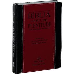 Bíblia De Estudo Plenitude Revista E Corrigida Com Índice