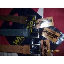 Wrangler Correas Originales, Talla 34 Y 38. De Cuero