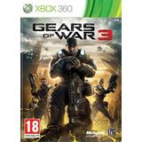 Gears Of Ware 3 Para Xbox 360 Original