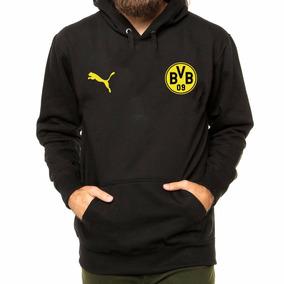 Blusa Moletom Time Puma Borussia Dortmund