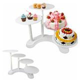 Base Para Tortas Y Cupcakes De 3 Niveles.