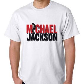 Camiseta Camisa Blusa Michael Jackson Pop Cantor Thriller