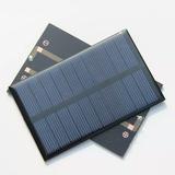 Panel Solar 5 V. 250ma. Más Conector Micro Usb
