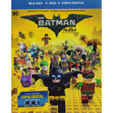Lego Batman La Pelicula En Blu-ray + Dvd + Copia Digital